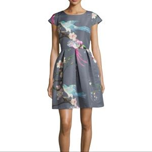 Ted Baker Flight of the Orient Dress NWT